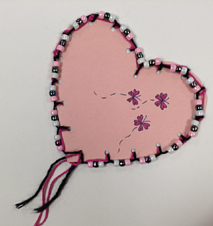 Cute Heart Sewing Project – Valentine's Day Ideas