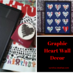 Graphic Heart Wall Art