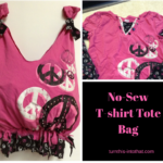 DIY T-shirt Tote Bag