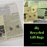 Diy Recycled Book Gift Bag