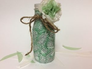 bud vase craft