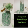 how tp make a decoupage bud vase