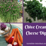 Chive Cream Cheese Dip