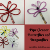 easy way to make butterfly using pipe cleaners