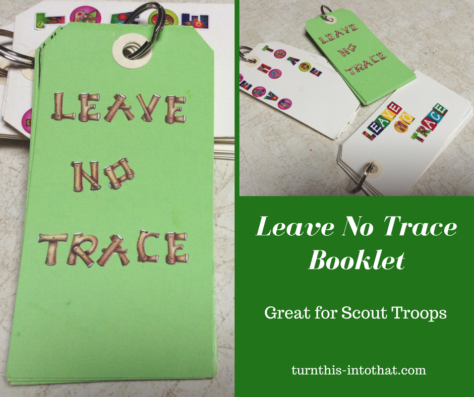 It is a photo of Unusual Leave No Trace Printable