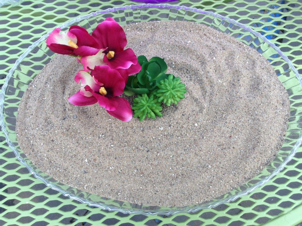 make your own mini zen garden
