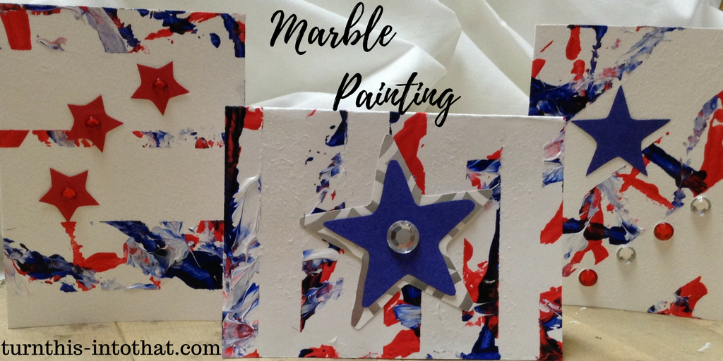 how to make marble painting