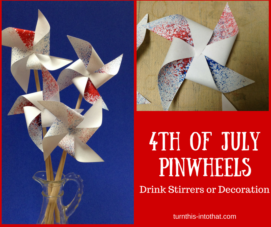 4th of July Pinwheels