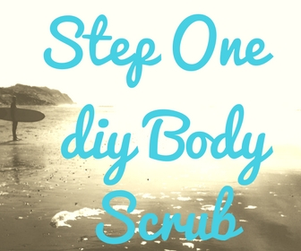 how to make your own body foot scrub
