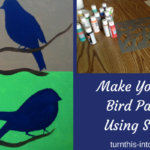 Using Stencils to Create Your Own Bird Paintings