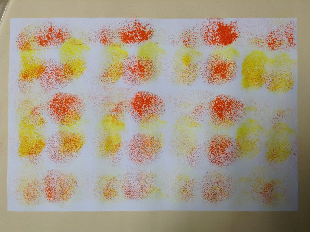 how to design your own painted paper