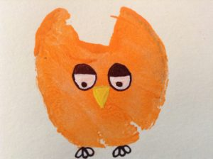 how to make owl art projects for kids
