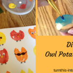 Owl Potato Prints