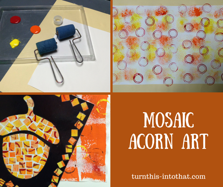 how to make a mosaic for kids