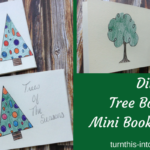 Tree Booklet – Mini Book Binding