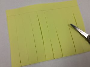 cutting paper for paper weaving