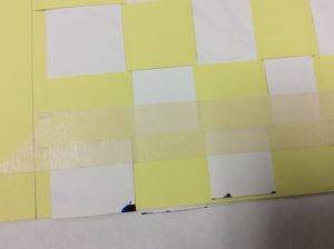 2nd grade paper weaving