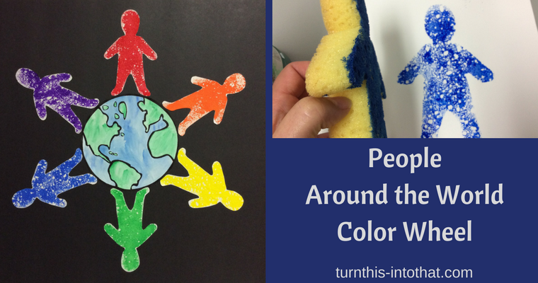 People Around the World Color Wheel