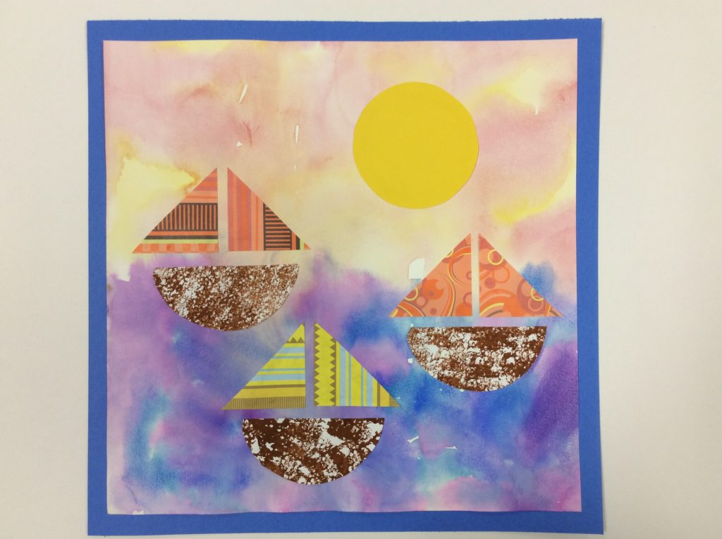 collage projects for kids