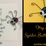 Itsy Bitsy Spider Button Magnets