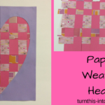Paper Weaving Heart – Valentine's Day