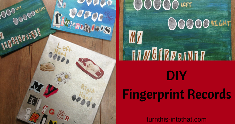 DIY Fingerprint Records