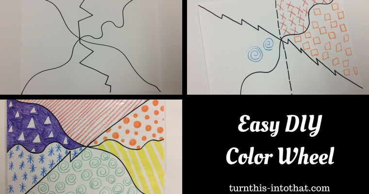 Easy DIY Color Wheel