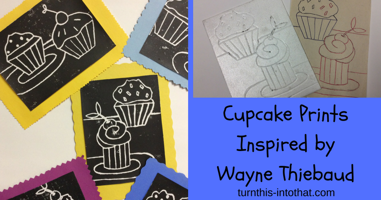 Cupcake Prints – Inspired by Wayne Thiebaud