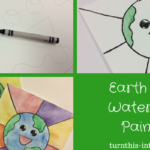 Earth Emoji – Watercolor Painting for Earth Day