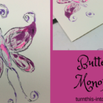 How to Make a Butterfly Monoprint