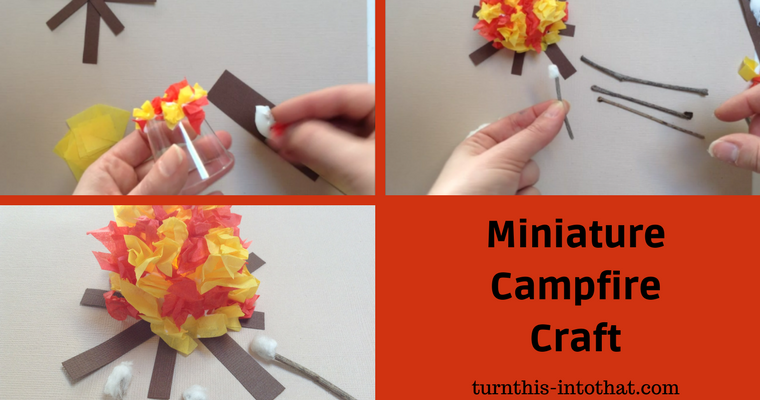 Miniature Campfire Craft