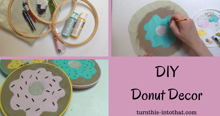 DIY Donut Decor