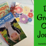 New Hallmark Cards at Dollar Tree + Journal Video Tutorial